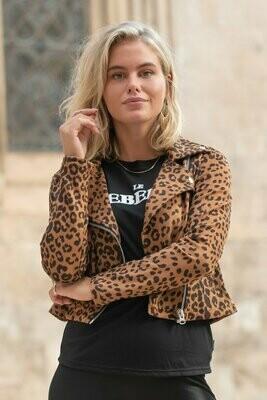 Romee bikerjack Leopard
