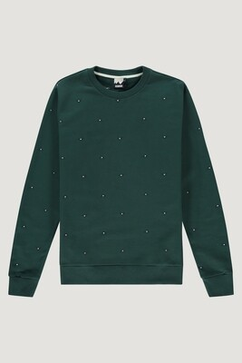 Big Peak Sweater Groen