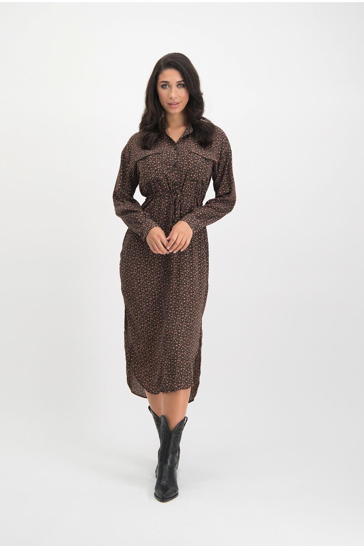 Elie Dress Black Print