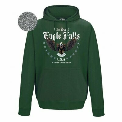 Great Eagle Falls Hoodie Oversized