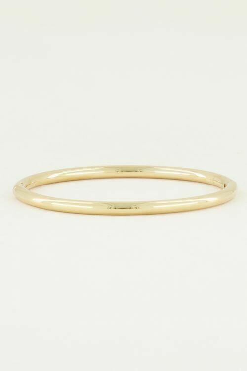 Armband Glad Goud