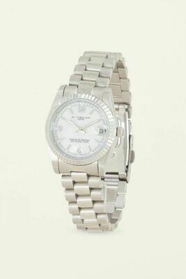 Horloge Schakelband Zilver