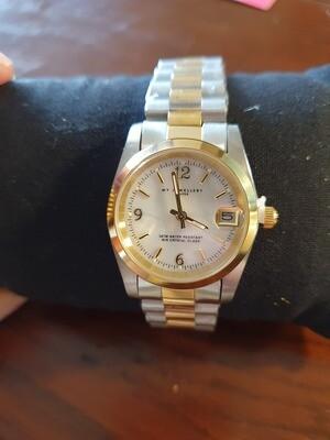 Horloge Schakelband 2-Kleurig