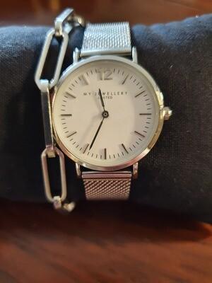 Horloge stalenband