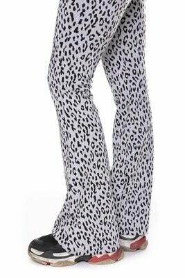 Jolie Leopard Flare Pants