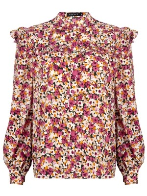 Manou Blouse Pink Flower