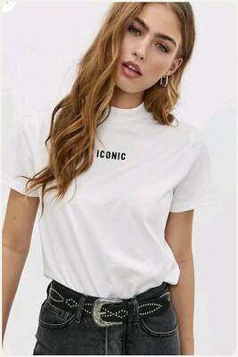 Iconic Tee white