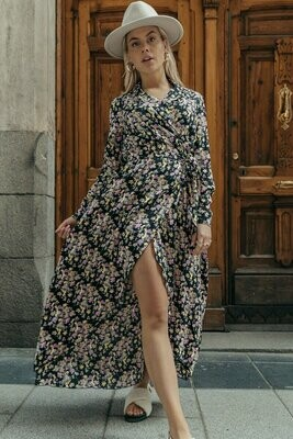 Vivian Blazer Flower Dress