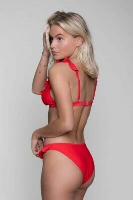 Nikki Ruffle Bikini Bottom