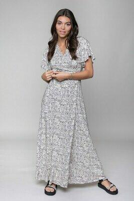 Ava Dots Maxi Dress