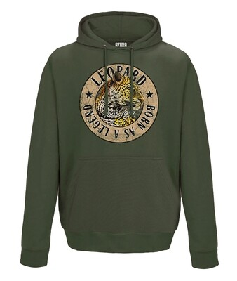 Born as a Legend Oversized Hoodie