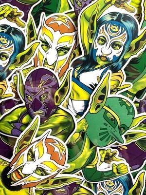 Goblinamania   Sticker 4-Pack