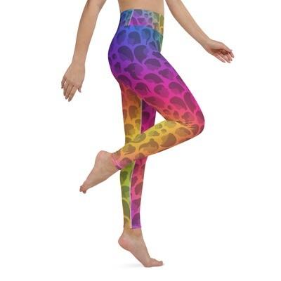 Rainbow Queen Yoga Leggings