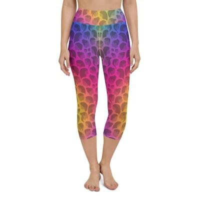 Rainbow Queen Capri Leggings