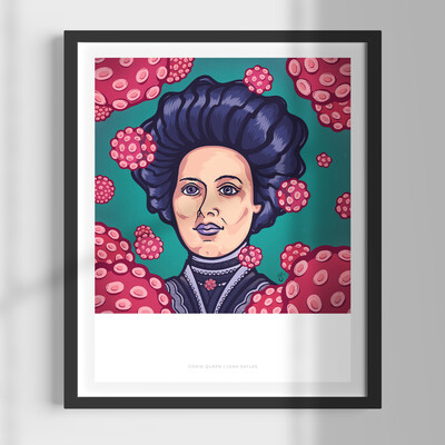 "Covid Queen 11x14"" Art Print (Signed LE)"
