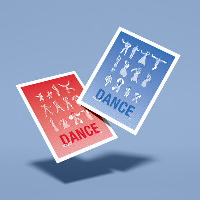 slash Dance – Limited Edition Double-Sided 11x14