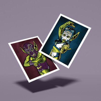 Goblinamania – Limited Edition Double-Sided 11x14