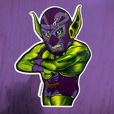 Goblimania (Purple) Sticker (Limited Edition)