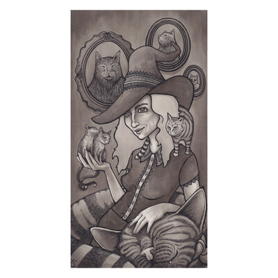 Witchy Woman –10x15