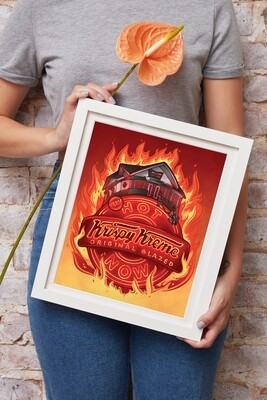 "Very Krispy 11x14"" Art Print (Signed LE)"
