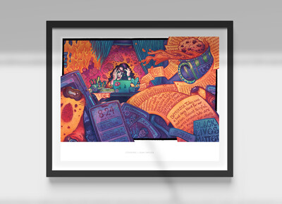"Covoirs 11x14"" Art Print (Signed LE)"