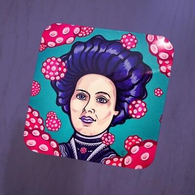 Covid Queen Sticker