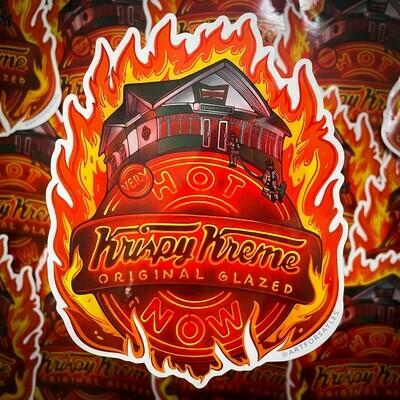 Very Krispy Sticker (Oversized)