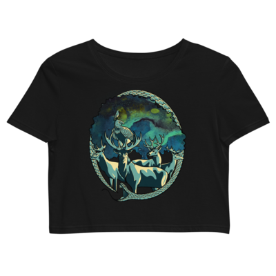 The Shirt of Life –Organic Crop Top