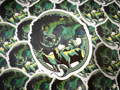 Yggdrasil Sticker