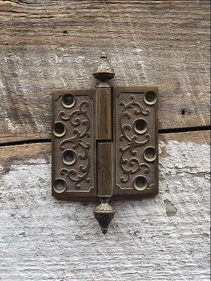Decorative Bronze Door Hinge