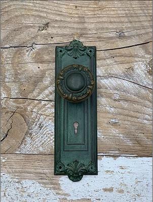 Knob and Doorplate Set