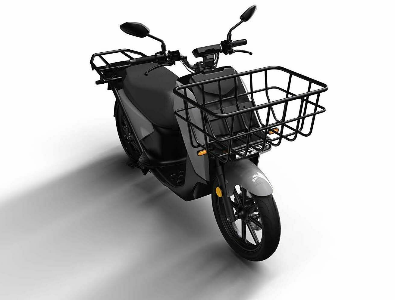 Super Soco VS1 Cargo scooter Dual battery