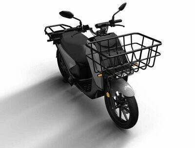 Super Soco VS1 Cargo scooter Dual battery