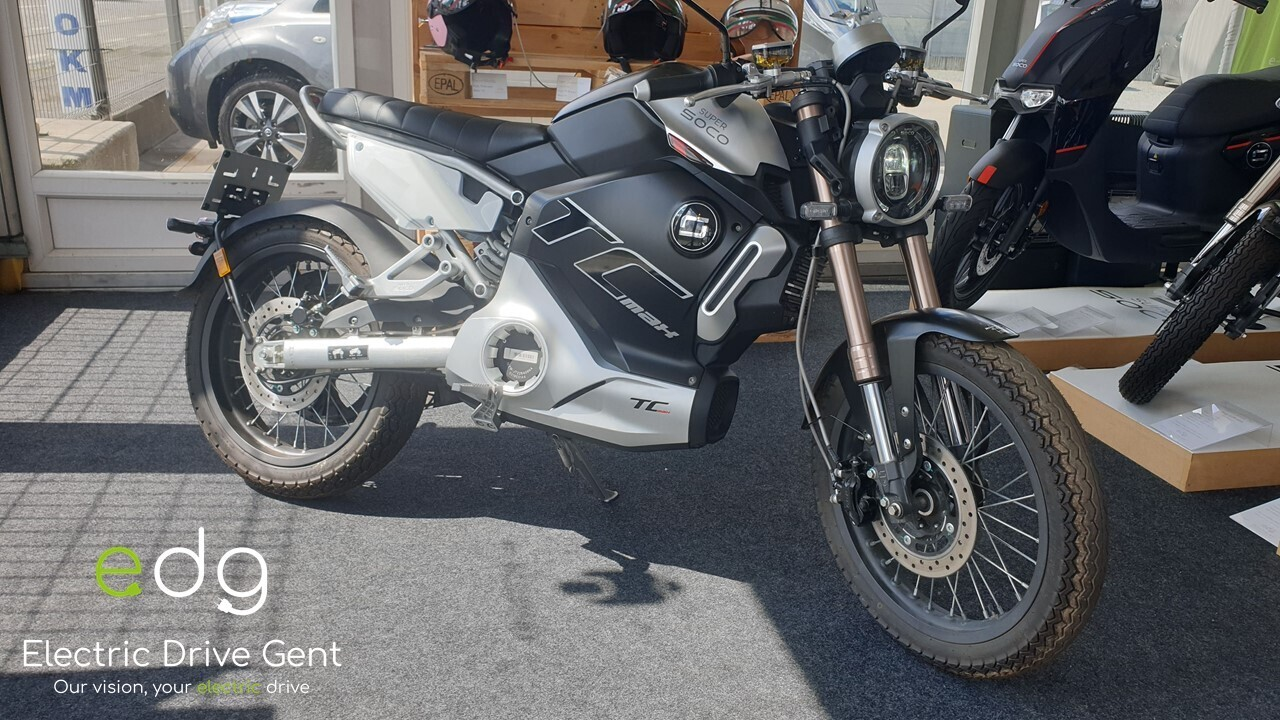 Super Soco TC Max !! 1000KM !! 125CC E-Moto 100% Elektrisch
