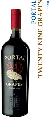 Quinta Do Portal 29 Grapes Ruby Reserve Porto - 75cl