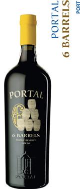 Quinta Do Portal 6 Barrels Tawny Reserve Porto - 75cl
