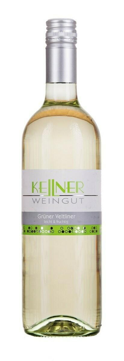 """KELLNER WEINGUT, WEINVIERTEL GRÜNER VELTLINER """"GREEN"""" LEICHT & FRUCHTIG - 75cl"""