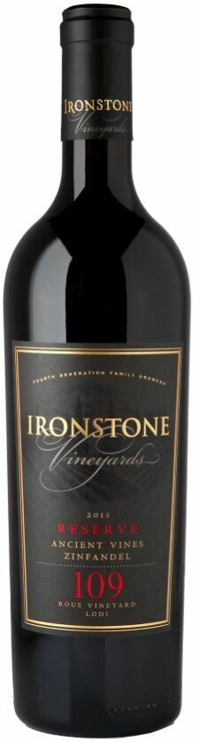 Ironstone Vineyards Reserve Rous Old Vine Zinfandel - 75 cl