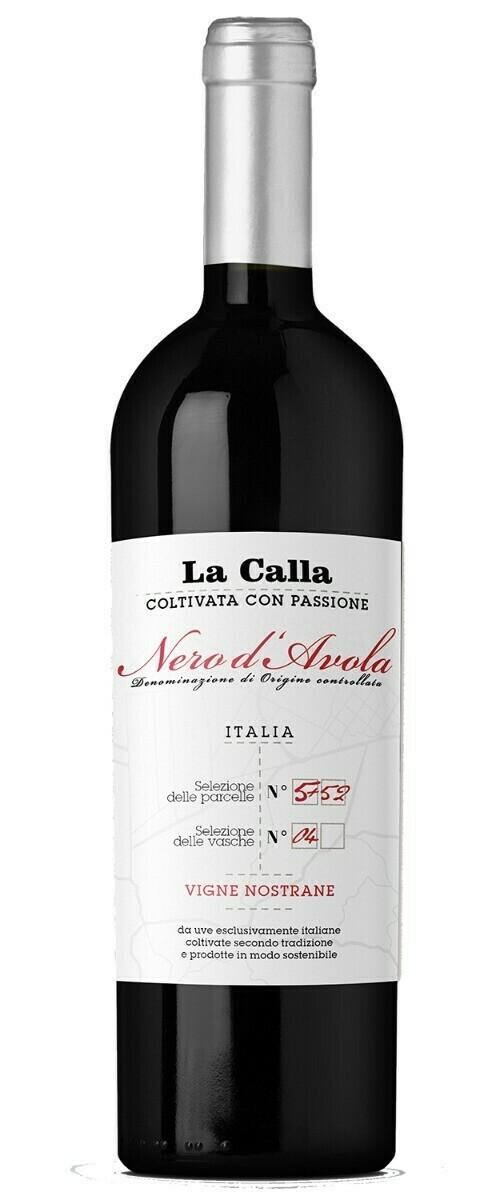 LA CALLA, SICILIA DOC APPASSITE NERO D'AVOLA - 75cl