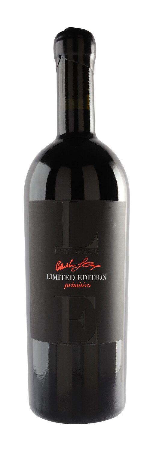 Tagaro LE Limited Edition Primitivo + wooden case - 75cl