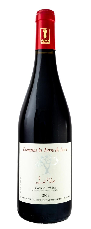 """Domaine La Terra De Lune """"La Vie"""" CDR Rouge - 75cl"""