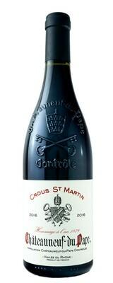 Crous St-Martin Chateauneuf-Du-Pape 93/100 R. Parker - 75cl