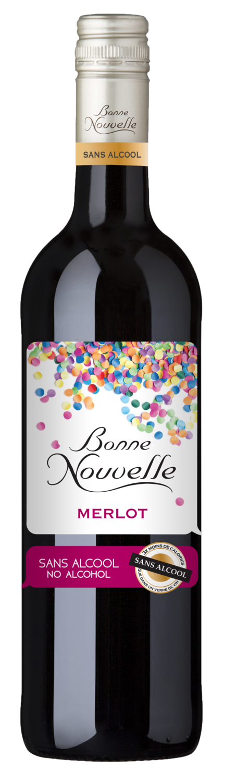 Bonne Nouvelle Merlot 0% Alcohol - 75cl