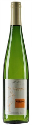 DOMAINE HUBERT BECK, ALSACE AC RIESLING CIGOGNES - 75cl