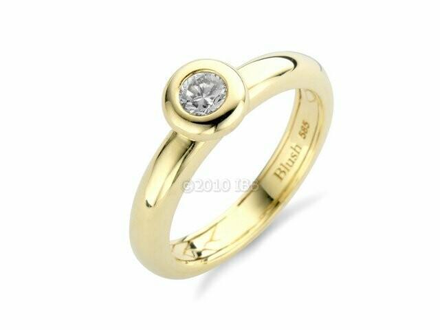 Blush ring geel 1061YZI