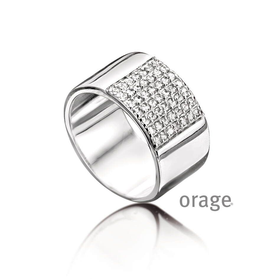 Orage ring AA127 wit