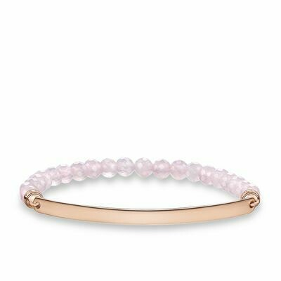 Thomas Sabo armband Love Bridge LBA0001 rose kwarts