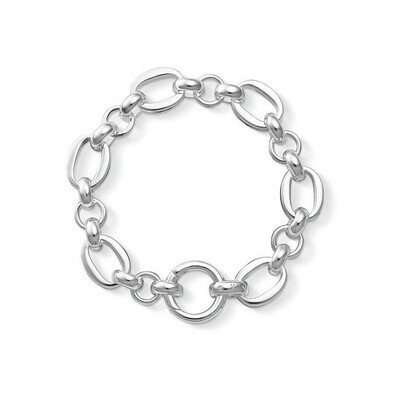 Thomas Sabo armband zilver schakel, A968