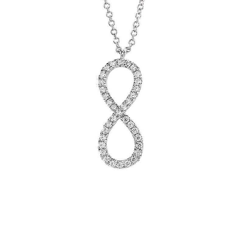 Collier infinty diamant