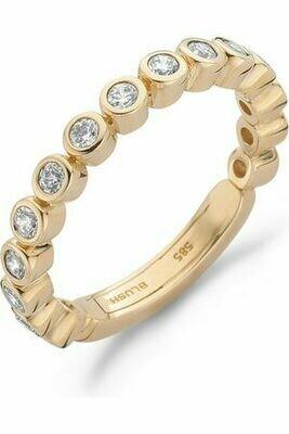 Blush 14kt ring